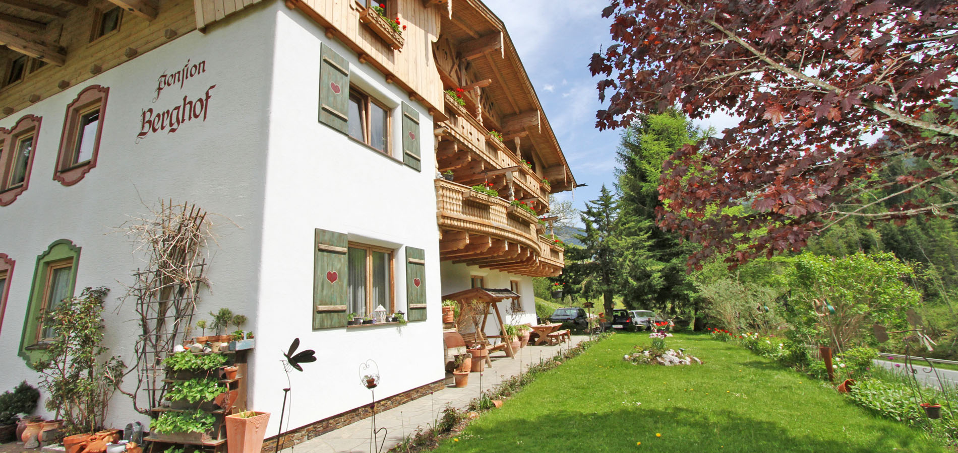 Hotel Pension Berghof - Here do i feel like home